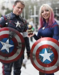@hikarujan as genderbent #captainamerica